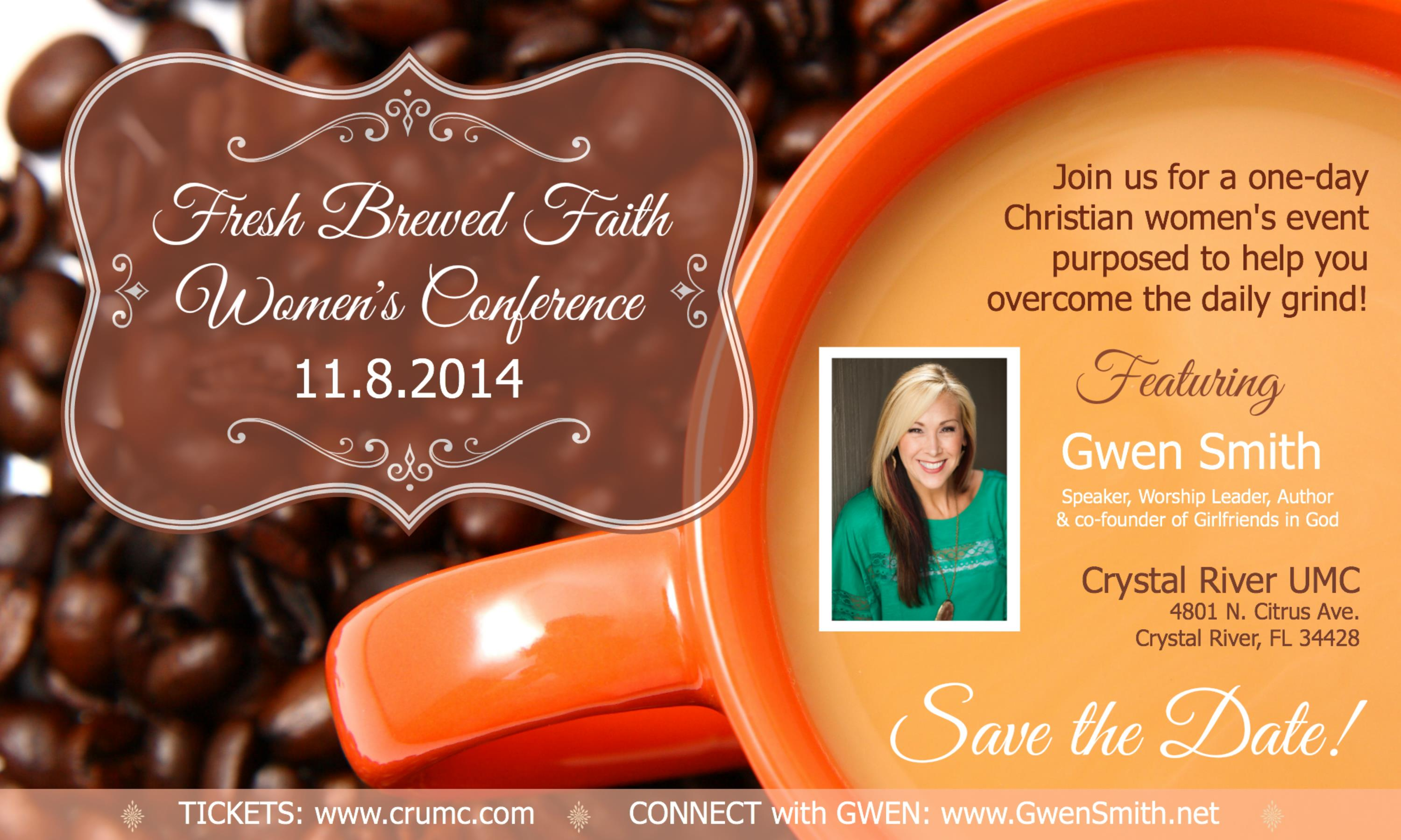 2014 Fresh Brewed Faith Women's Conference
